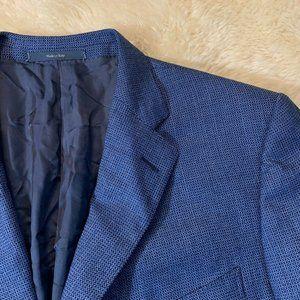 Ermenegildo Zegna Roma Fit Blue Trofeo Wool 3/2 46